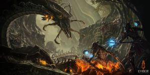 The Ember Conflict by liquidminduk