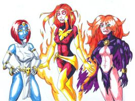 Marvel Villainesses by strangefour