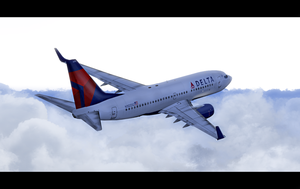 Delta 737 **paint** by angelswake-tf