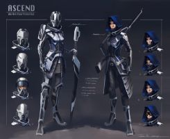 Ascendant Order Knights by Rubisko