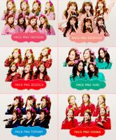 [SHARE] Pack Renders SNSD by Zinyhwang by Hwanghwang