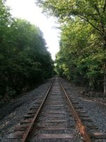 Railroad 02 by OrganicGolem-Stock