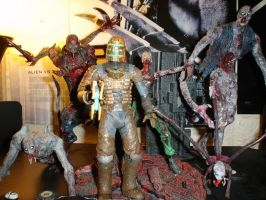 Dead Space figure collection by pyramidhead22