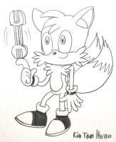 Tails with Wrench by komi114