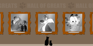 Great Cats In History: Hall of Greats by Zero20-2