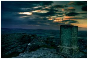 Bennachie: sunset by Project-Firefly