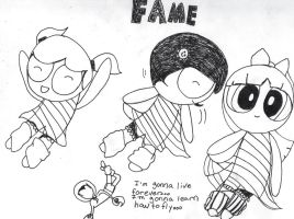 PPG: Fame -lines- by AlicornMoonstar