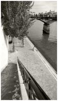Summer by the River Seine by iamthewizard2