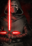 Kylo Ren by Ailish-Lollipop
