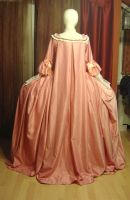 Robe a la francaise in pink 2 by azdaja