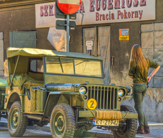 Old Car in Old Town by marrciano