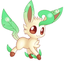 Leafeon by Bukoya