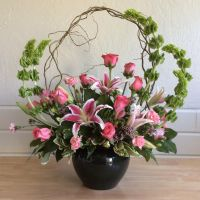 Floral Arrangement by Platycerium