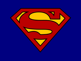 "Superman ""S"" Logo wallpaper by Pencilshade"