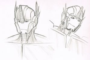 Optimus Prime Sketches (TFP) by Sn1p3rXL