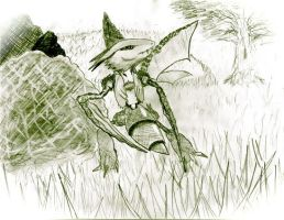 Scyther by Elc54