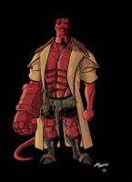 HELLBOY COLOR VERSION by ZacBrito
