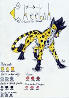 Ref. Sheet n.2 -Cheetah by ARVEN92