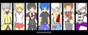 The Blacklisted assassins by jasonthenitro