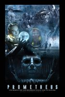 Prometheus Movie Poster by ToHeavenOrHell