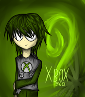 Xbox 360 by cloudmuffin727