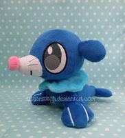 Pokemon: Petit Popplio by sugarstitch