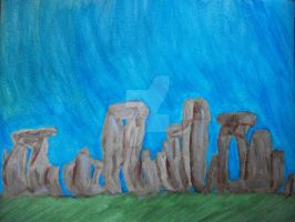 Stonehenge, a Sacred Site by NewYorkArtistFrancis