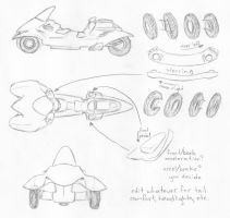 motortrike concept by Anavar