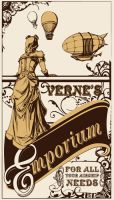 Verne's Emporium by thegryph