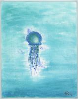 Jellyfish-painted by bea1332