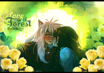 InuYasha and Kagome - Love In The Forest -  by MikoKira