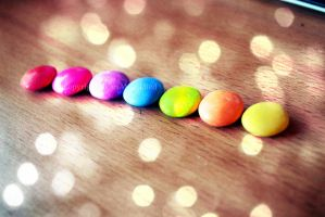 Rainbow SMARTIES by HeartANGELfied