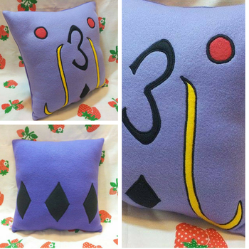Swalot Pillow by SillinessofSewing