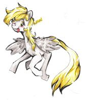 Derpy being Derpy by PickledCandyPants07