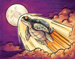 Song of the Space Turtle by SpaceTurtleStudios