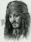 Jack Sparrow by AngelinaBenedetti