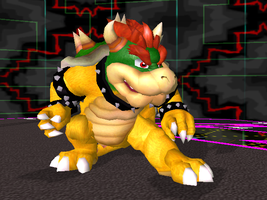 NSMBW Bowser by Steelia