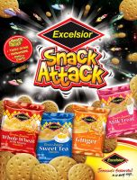 Excelsior_Snack Attack_Ad by innografiks