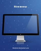 Blue snow by bimbim2