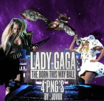 Lady Gaga The Born This Way Ball 4 Png's by Th3joviix
