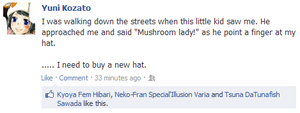 mushroom hat .khr fb. by Its-Terian