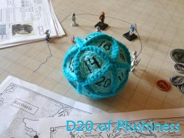 D20 of Plushiness by VelvetKey