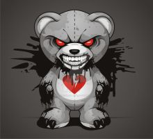 Evil Teddy by BurningEyeStudios
