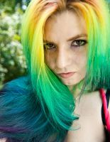 Rainbow Hair by lizzys-photos