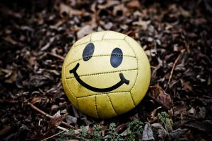 yellow smiley face by jonschwadron