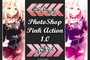 PS (Pink) Action 1.0 by Wisp-Night
