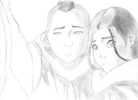 Katara and Sokka by AnimeFan-3000