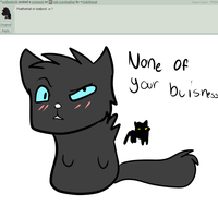 Ask crowfeather 2 by chlckadee