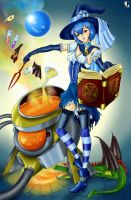 Blue witch by Lord--Opal