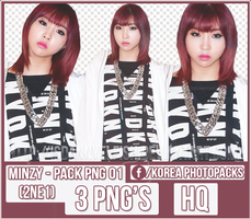 Minzy (2NE1)  PACK PNG#01 by JeffvinyTwilight